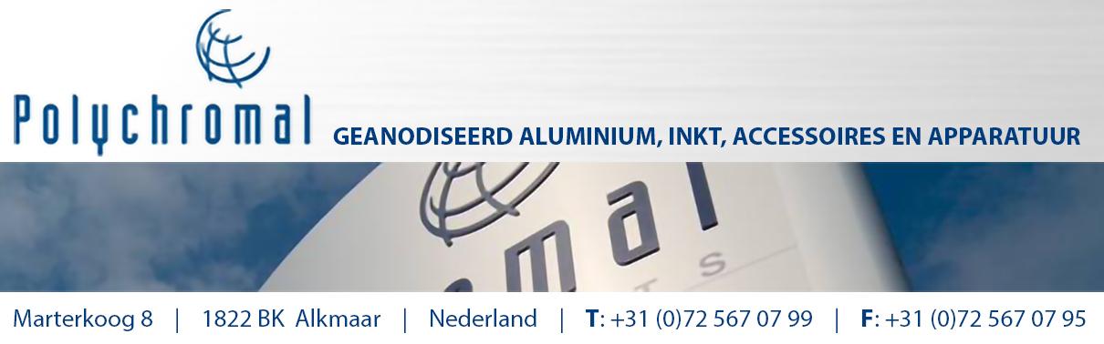 Plychromal Geanodiseerd Aluminium