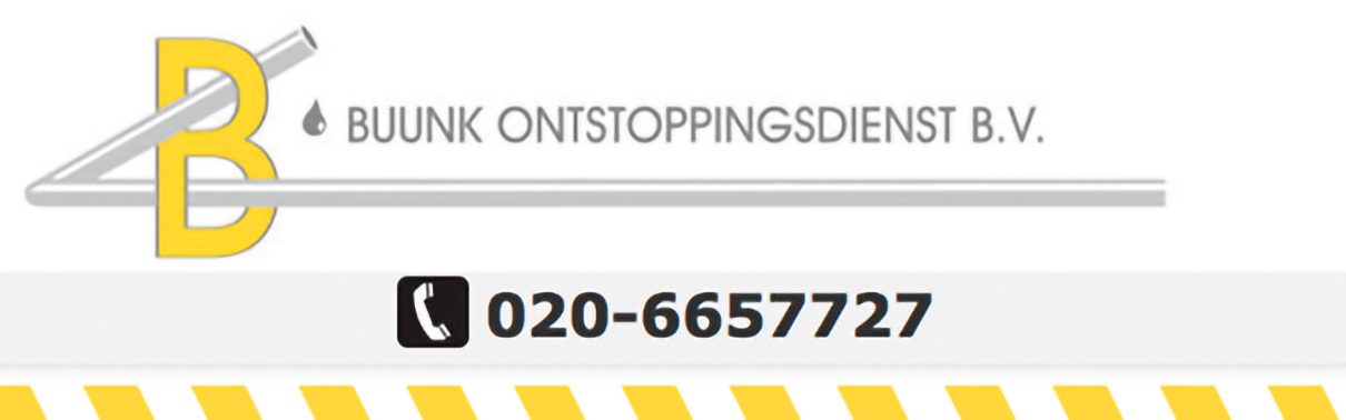 Buunk Ontstoppingsdienst Banner