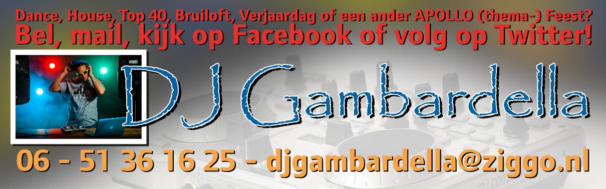 DJ Gambardella Banner