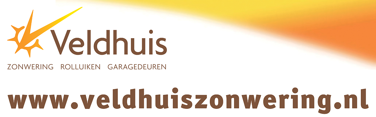 Veldhuis Zonwering Banner